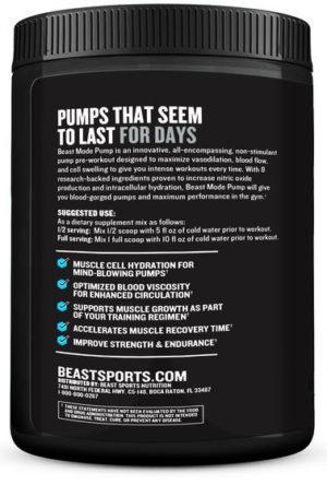 Beast Mode Pump Side Panel