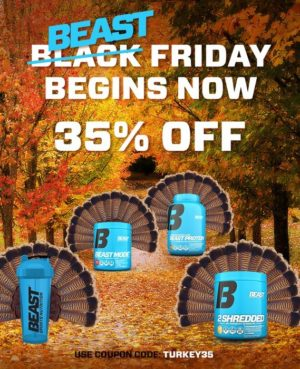Beast Sports Nutrition Black Friday 2019