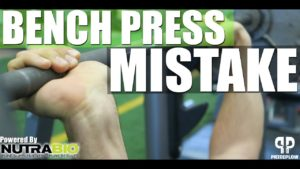 Bench Press Mistake