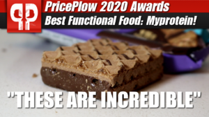 Myprotein's Crispy Wafers were awarded 2020's Best Functional Foods!