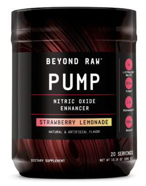 Beyond Raw Pump Strawberry Lemonade