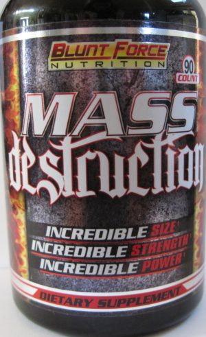 Blunt Force Nutrition Mass Destruction Superdrol