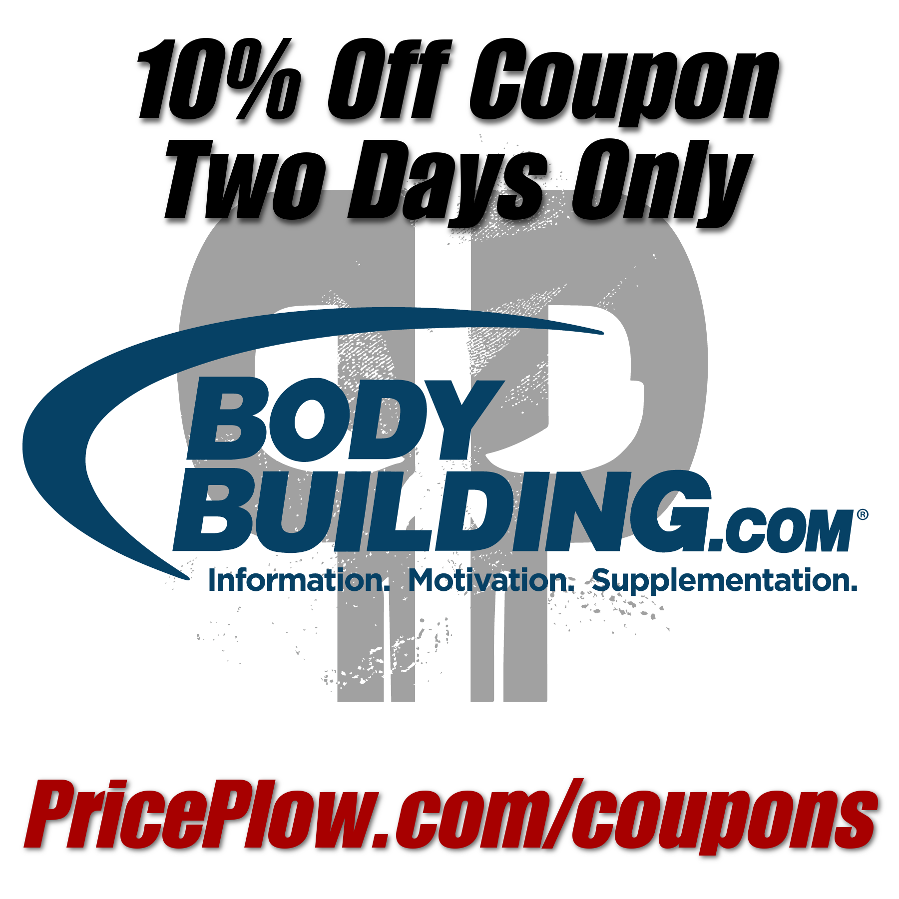 Bodybuilding.com 10% off Coupon!