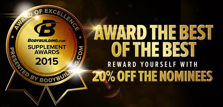Bodybuilding.com Supplement Awards