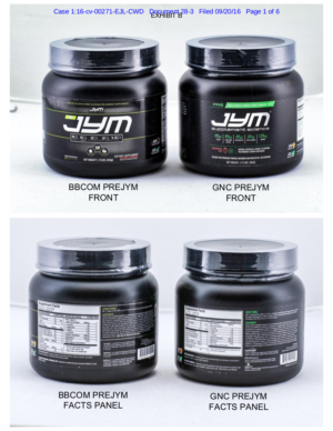 Bodybuilding vs GNC JYM