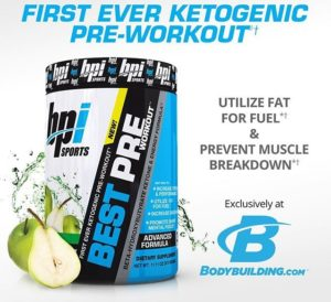 BPI Best Pre Workout Keto