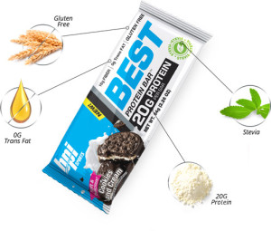 BPI Best Protein Bar Breakdwon