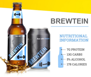 Brewtein is the higher calorie brew that packs more protein than any other beer on the market.