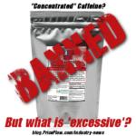 Caffeine Powder Banned
