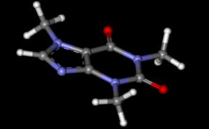 caffeine 3d image