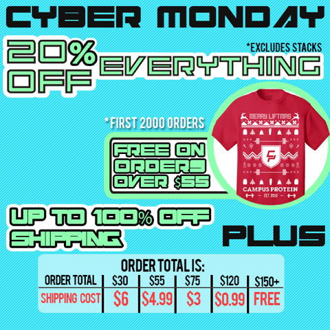 Campus Protein Cyber Monday
