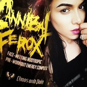 Cannibal Ferox Face