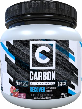 Recover from Layne Norton's Carbon line of supplements has everything you need to speed recovery and reduce soreness.