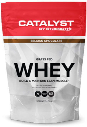 Catalyst by Strength.com Grass-Fed Whey