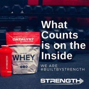 Catalyst Grass-Fed Whey Inside