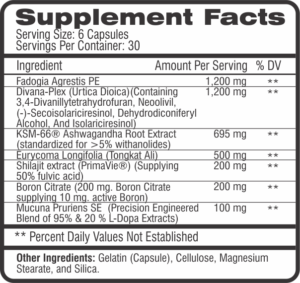 CEL M-Test Ingredients