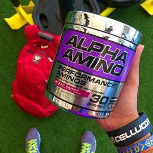 Cellucor Alpha Amino Closeup