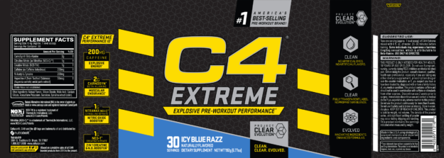 Cellucor C4 Extreme Label