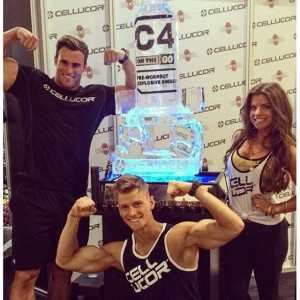 Team Cellucor looks pumped to try the all new C4 RTD, will it get you going in the gym?