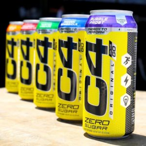 Cellucor C4 Original Carbonated Purple Frost