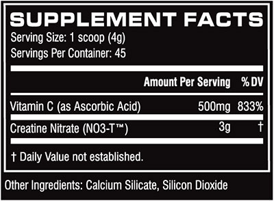 Cellucor CN3 Ingredients