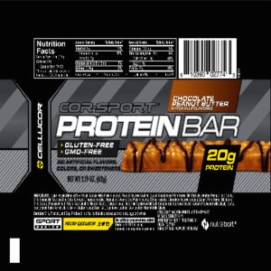 Cellucor COR-Sports Protein Bar PB Flat