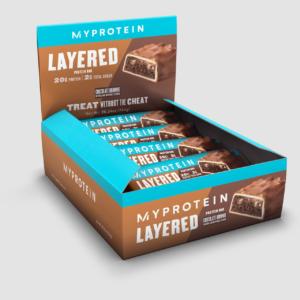 Chocolate Brownie Layered Bar Box