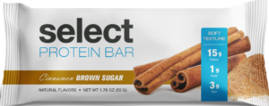 Cinnamon Brown Sugar Select Protein Bar