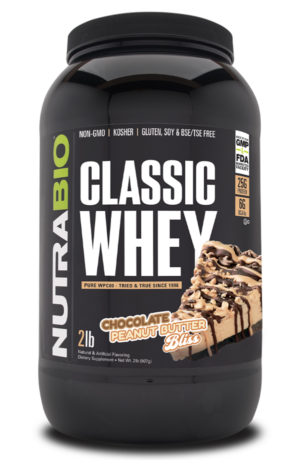 Classic Whey Chocolate Peanut Butter Bliss