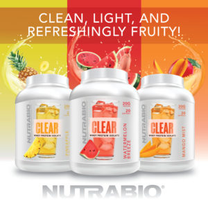 Clear Whey Protein NutraBio