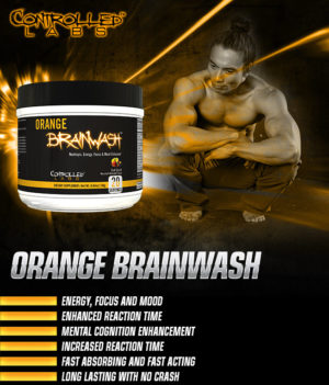 Controlled Labs Orange Brainwash Banner