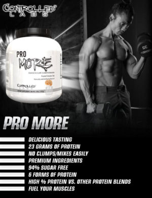 Controlled Labs PROmore Banner