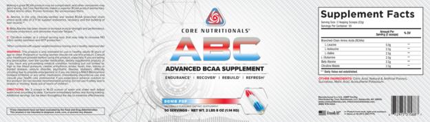 Core ABC Bomb Pop Label
