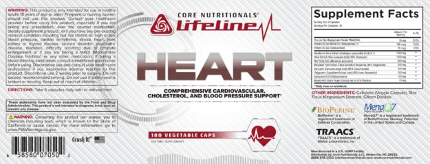Core HEART Label