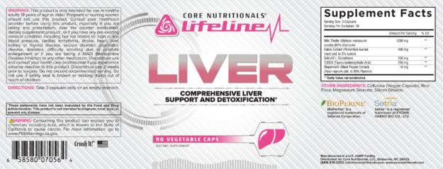 Core LIVER Label