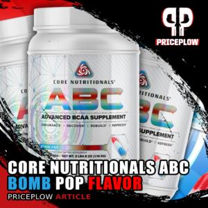 Core Nutritionals ABC Bomb Pop
