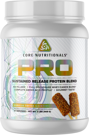Core Nutritionals Pro Vanilla Toffee Gaintime