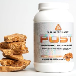 Core Post Peanut Butter Brittle