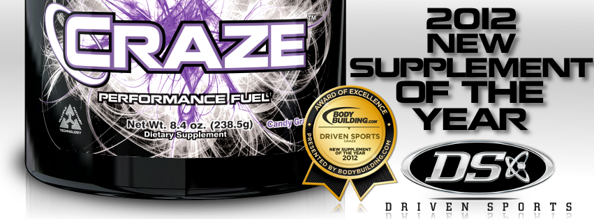 2012 New Supplement of the Year