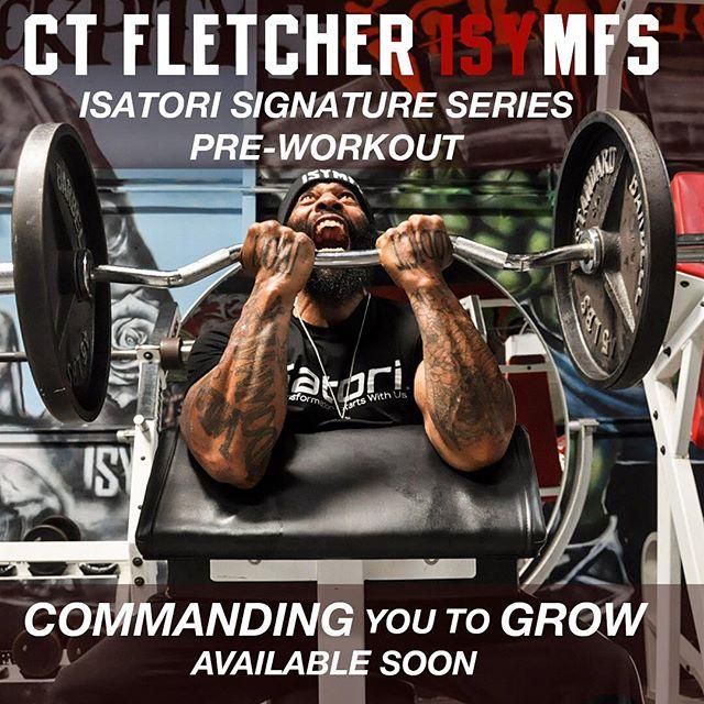 Ct fletcher 39 s pre workout isymfs by isatori analyzed for Ct fletcher its still your set shirt