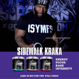 CT Fletcher Sidewalk Kraka