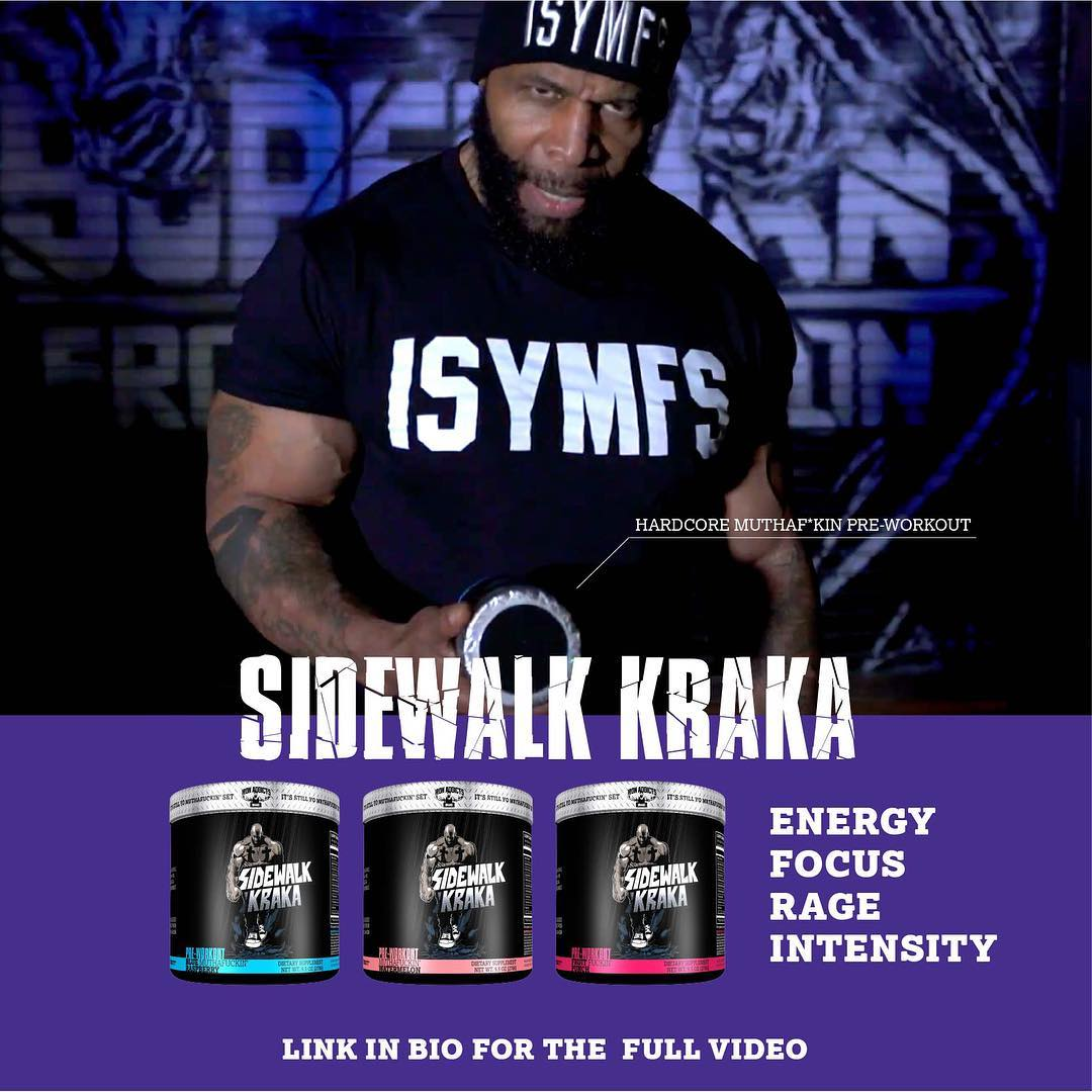 Sidewalk Kraka is CT's powerfully-dosed pre workout. He wouldn't sell it if he didn't love it himself!