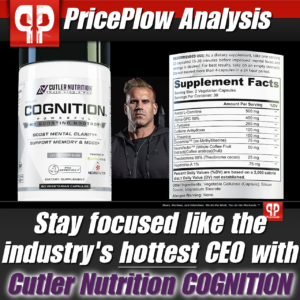 Cutler Nutrition Cognition Analysis