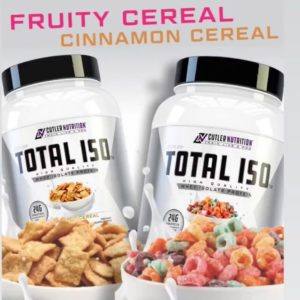 Cutler Nutrition Total ISO Flavors