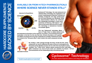 Cyclosome Hi-Tech