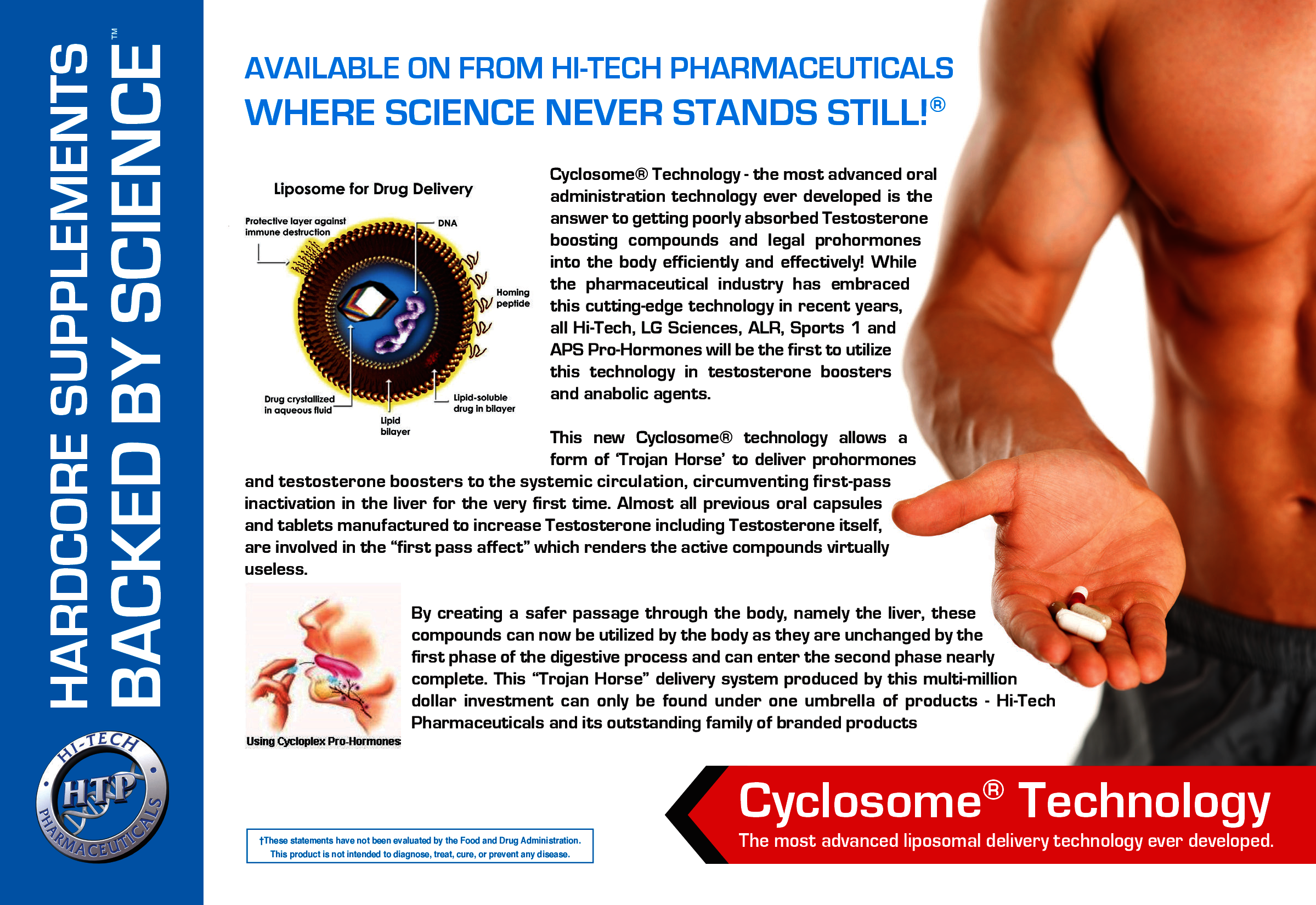 Hi-Tech Pharmaceuticals 1-Testosterone