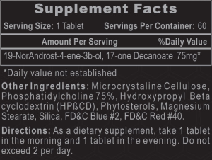 Decabolin Ingredients