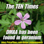 DMAA Geranium