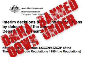 DMHA Banned in Australia
