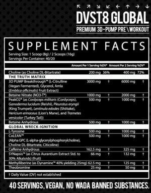 DVST8 Global Ingredients